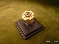 Bieder arany gyűrű