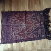 Török Kilim gyapjú szőnyeg kézi szőttes falusi imaszőnyeg