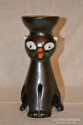 Iparművészeti kerámia macska ( DBZ0065 )