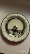 Hollóházi porcelán hamutál