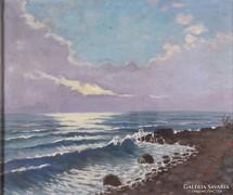 Európai festő XX. század : Tengerpart