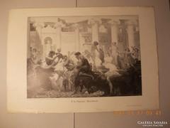 Baccanália :1880 .ban készült famatszet