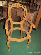 Antik Neobarokk karfás szék