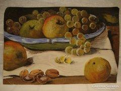 Asztali gyümölcs csendélet