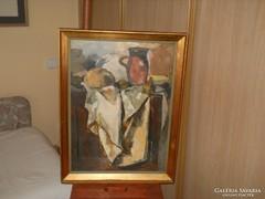 Sarkantyú Simon Csendélet című festménye