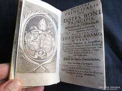 Weber Johann Adam : Spiritus principalis sive dotes bon 1674