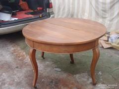 Antik asztal-Konzol-Demi Lune