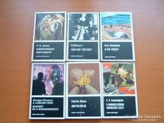 6 DB EURÓPA KÖNYV: P.D.JAMES,ED MAZZARO,R. MACDONALD,P. MOYE