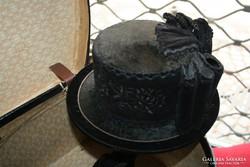 Tiroli antik női kalap -  Kisméretű
