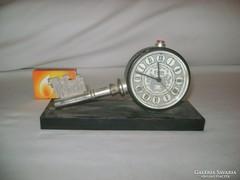 Retro SLAVA csörgőóra, asztali óra