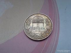 1914 ezüst 1 korona.magyar gyönyörű,patinás darab