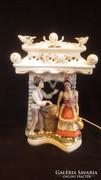 Alba Júlia porcelán asztali lámpa