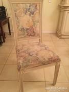 Olasz SELVA stil fehér fa 6db szék