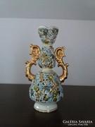 Fischer Zsolnay váza