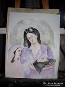 Salome, Keresztelő Szent János levágott fejével ,Gadányi J.