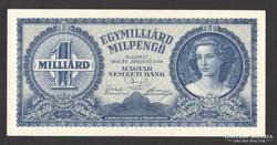 Egymilliárd milpengő 1946.  UNC !!!