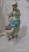 Herendi vízhordó asszony