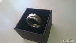 Ezüst különleges artdeco stílusú gyűrű