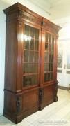 Óriási reneszánsz stil vitrin szekrény