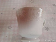 Pagoda csipke mintás porcelán kávés csésze