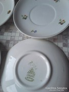 Kék hajnalkás virágmintás teás készlet