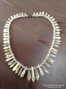 Régi kagyló gyöngyház nyaklánc