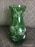 Ritka, Zöld kristály váza