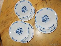 Porcelán, sütis-tányérok