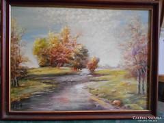 Varga Dezső festmény