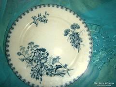 Antik Sarreguemines tányér 23,5 cm