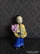 Antik Herendi kínai kislány figura