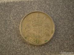 100 peseta 1986