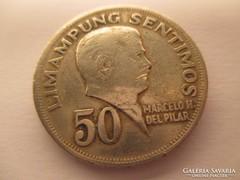 Republika NG Pilipinas-50 Limapung Semtimos.1967