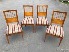 4db biedermeier szék 1840-50.
