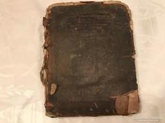 1809-ből kézzel írott katolikus imádkozás