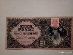 Ritkább 1000 pengő