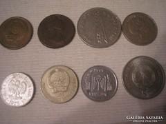 Különbözö régi pénzek gyűjtemény 8 db eladó/41./