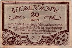 Uránia Mozgófényképszinház - 20 fillér
