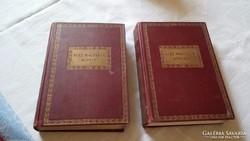 Száz magyarok könyvei 2 db VIII és X. kötet együtt, antik