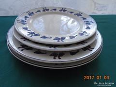 Sandra Rich Collection-Nyakkendős libás tányér-4 db (2 db-23 cm+2 db 20,5 cm)