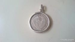 Ezüst 2 pengő 1929. Magyarország védőasszonya