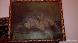 Antik gyumolcsos festmeny