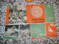 Asszonyok kézikönyve - 1963