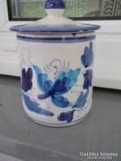 Porcelán, kézi festésű, - bonbon ,-vagy ? tároló