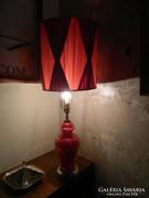 Gyönyörű antik / vintage asztali porcelán lámpa