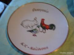 Csodaszép   lapos tányér