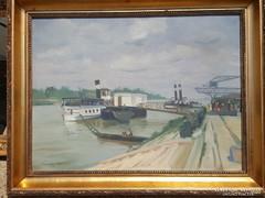 Somogyi Imre 1951 / Dunapart