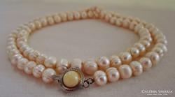 Szépséges antik valódi gyöngy nyaklánc