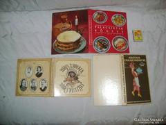 Retro szakácskönyv - három darab - 1987, 1990...