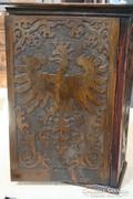 Fali patikaszekrény - XIX. század vége - felújítva